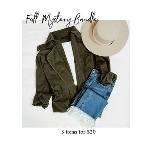 Cozy Fall Mystery Style Box / 3 for $20